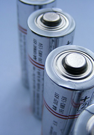 WE COLLECT BATTERIES AND PROPERLY DISPOSE OF THEM